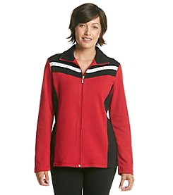 Breckenridge® Petites' Out In The Wild Colorblock Active Jacket
