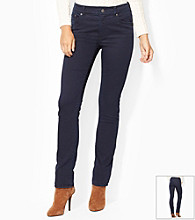 Lauren Jeans Co.® Slimming Heritage Straight Jeans