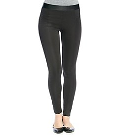 NY Collection Black Leggings