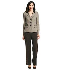 Le Suit® Houndstooth Pantsuit