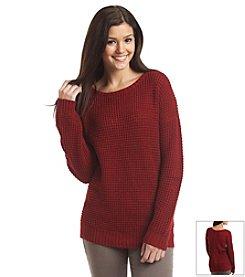 Love by Design Zipper Back Sweater