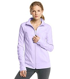 Exertek® Petites' Pieced Mock Neck Jacket