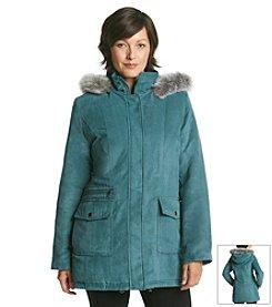 Forecaster Suede Blouson Coat