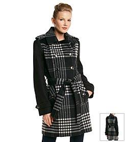 MICHAEL Michael Kors® Belted Wool Trenchcoat
