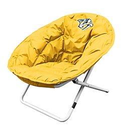 NHL® Nashville Predators Yellow Sphere Chair