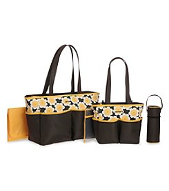 Carter's® Floral 5-in-1 Diaper Bag Set