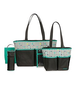 Carter's® Geometric Print 5-in-1  Diaper Bag Set
