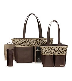 Carter's® Cheetah Print 5-in-1 Diaper Bag Set