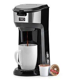 TRU Dual Brew Single Serve Coffeemaker