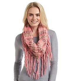 BCBGeneration™ Cozy Striped Loop Scarf