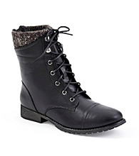 "Madden Girl ""Rummer"" Lace-Up Booties"