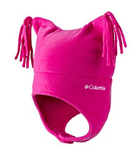 Columbia Girls' 2T-4T Pigtail Hat