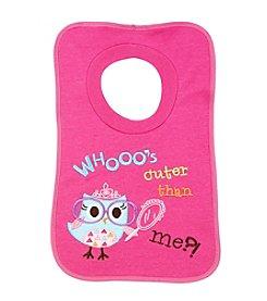 Cuddle Bear® Owl Pullover Bib