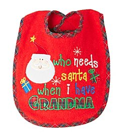 Cuddle Bear® Who Needs Santa Bib