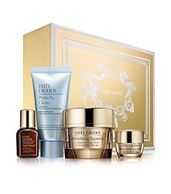 Estee Lauder Global Anti-Aging Essentials With Full Size Revitalizing Supreme Gift Set (A $134 Value)
