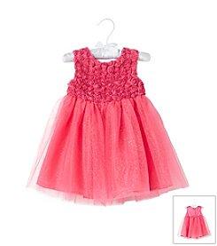 Cuddle Bear® Baby Girls' Sparkle Tulle Dress