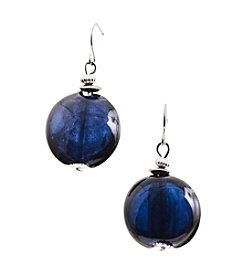 Ruby Rd.® Teal Hook with Beaded Drop Earrings