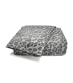 Scent-Sation, Inc. Wild Life Grey Leopard Sheet Set