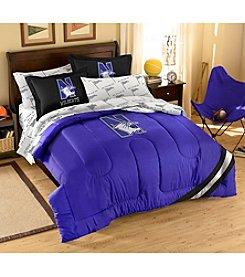 NCAA® Northwestern University Comforter Set