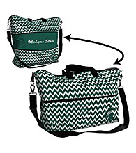 Michigan State University Logo Chair Expandable Tote
