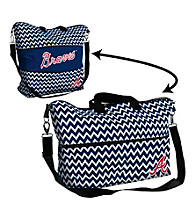 Atlanta Braves Logo Chair Expandable Tote