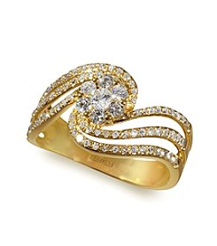 Effy® .58 ct. t.w. Diamond Ring in 14K Yellow Gold