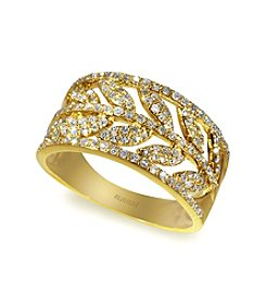 Effy® .53 ct. t.w. Diamond Ring in 14K Yellow Gold