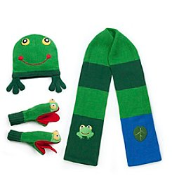 Kidorable™ Frog Cold Weather Accessories