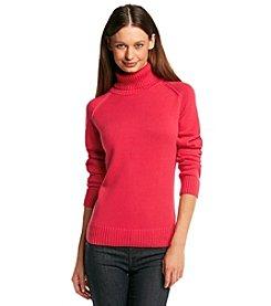 Jeanne Pierre® Turtleneck Sweater