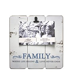 Fetco® Family Photo Clip Frame