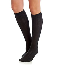 Relativity® Basket Weave Knee Highs Socks