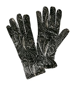 Cejon® Paisley Velvet Gloves
