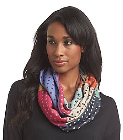 V. Fraas® Multi Dot Cashmink Loop Scarf
