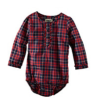 OshKosh B'Gosh® Baby Girls' Plaid Bodysuit