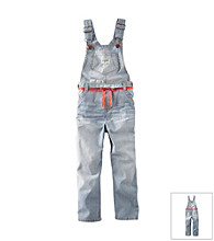 OshKosh B'Gosh® Baby Girls' Hickory Overalls
