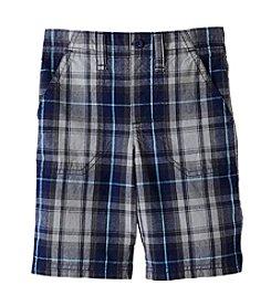 Ruff Hewn Mix & Match Boys' 2T-7 Plaid Flat Front Shorts