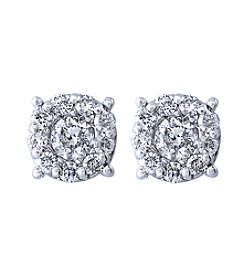 Effy® Bouquet Collection 0.50 ct. t.w. Diamond Earrings