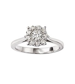 Effy® Bouquet Collection 0.51 ct. t.w. Diamond Ring