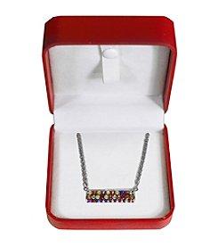 Effy® Shades of Sapphire Bar Pendant Necklace