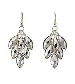 Studio Works® Silvertone Shaky Earrings