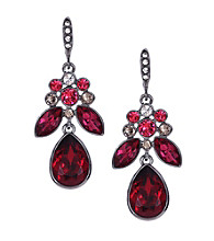 Givenchy® Red Drop Earrings