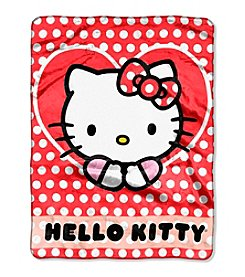 Hello Kitty® Polka Dot Explosion Silk Touch Throw
