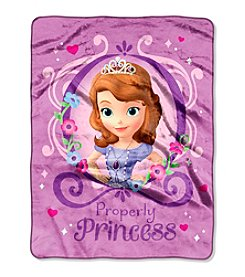 Disney™ Sofia the First - Princess Perfection Silk Touch Throw