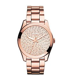 Fossil® Women's Perfect Boyfriend Watch with Rose Goldtone Bracelet & Tonal Pave Dial