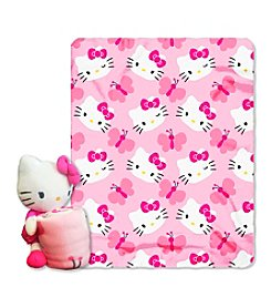 Hello Kitty® Butterfly Hugger Throw