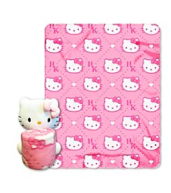 Hello Kitty® Pink HK's Hugger Throw
