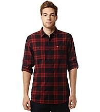 Buffalo by David Bitton Men's Medium Plaid Buttondown Shirt