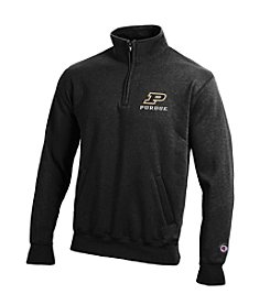 Champion Men's Purdue University Eco Powerblend Quarter Zip