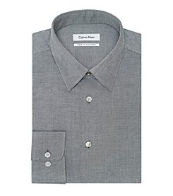 Calvin Klein Men's Solid Spread Dress Shirt