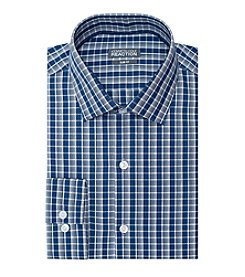 Kenneth Cole® Men's Plaid Spread Dress Shirt